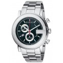 Gucci G-Chrono Black Steel Mens Watch YA101309