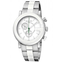 Gucci G-Chrono Ceramic Steel Womens Watch YA101345