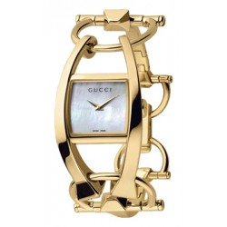 Gucci Chiodo 18K Yellow Gold Womens Watch YA123504