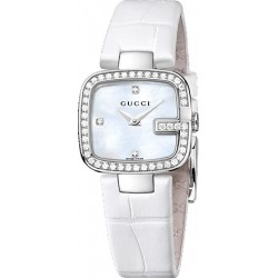 Gucci G-Gucci Pearl Diamond Dial Womens Watch YA125514