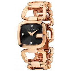 Gucci G-Gucci Rose Gold PVD Bracelet Womens Watch YA125512