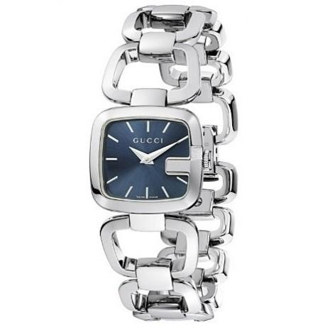 Gucci G-Gucci Small Steel Bracelet Blue Womens Watch YA125508
