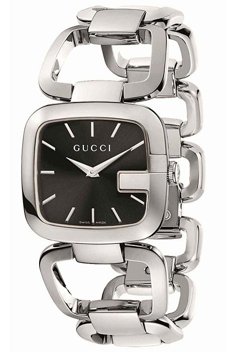 45fc6b62728 Gucci G-Gucci Medium Size Steel Bracelet Womens Watch YA125407