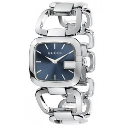 Gucci G-Gucci Blue Dial Steel Case Womens Watch YA125405