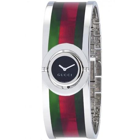 Gucci Twirl Small Web Acetate Womens Watch YA112517