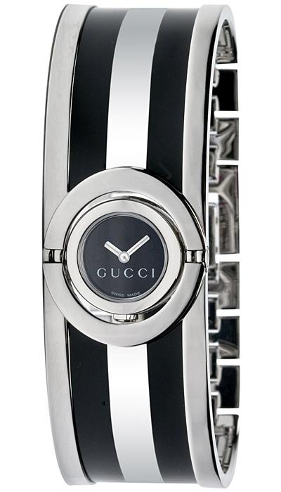 c8aeed6db22 Gucci Twirl Small Web Acetate Womens Watch YA112516