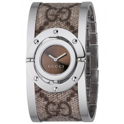 Gucci Twirl Large Canvas Womens Watch YA112425