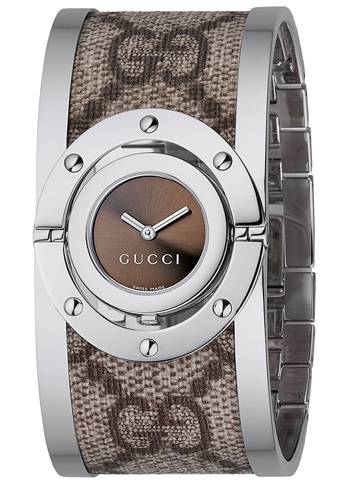 60379a5f6ad Gucci Twirl Large Canvas Womens Watch YA112425