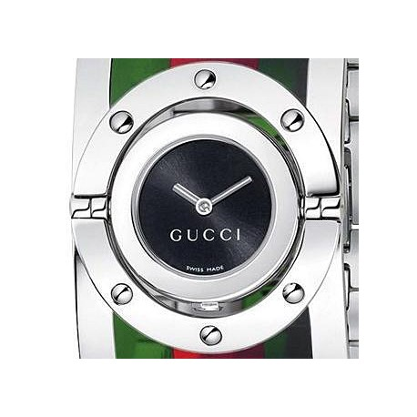 Gucci Twirl Large Web Acetate Womens Watch YA112417