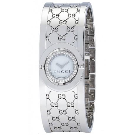 Gucci Twirl Small Diamond Womens Watch YA112511