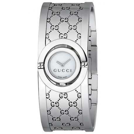 Gucci Twirl Small Steel Womens Watch YA112510