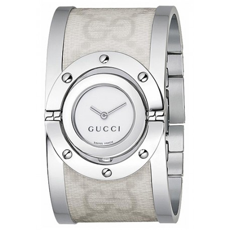 Gucci Twirl Large Canvas Womens Watch YA112419