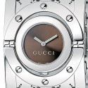 Gucci Twirl Large Steel Womens Watch YA112401