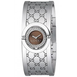Gucci Twirl Small Diamond Womens Watch YA112503