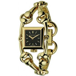 Gucci Signoria 18K Yellow Gold Gold Womens Watch YA116507