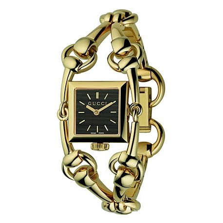 Gucci Signoria 18K Yellow Gold Gold Womens Watch YA116507