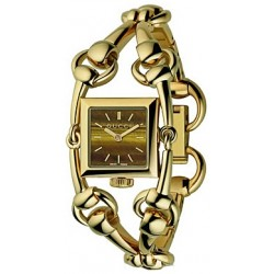 Gucci Signoria 18K Yellow Gold Womens Watch YA116506