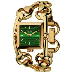 Gucci Signoria 18K Yellow Gold Womens Watch YA116305