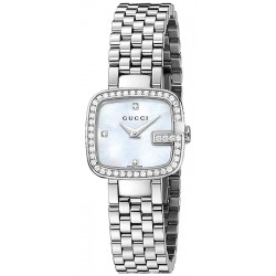 Gucci G-Gucci Diamond Bezel Womens Watch YA125519