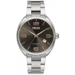 F201016200 Fendi Fendimatic Automatic Brown Dial Steel Watch