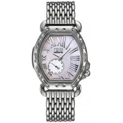 F84034H Fendi Selleria Tonneau White MOP Dial Watch Case 39mm