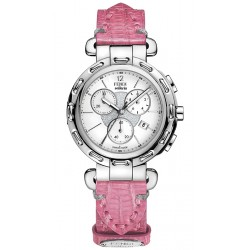F89034H Fendi Selleria Round Chronograph Womens Watch Case
