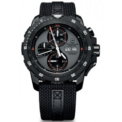 Swiss Army Alpnach Mechanical Black Fabric Mens Watch 241528