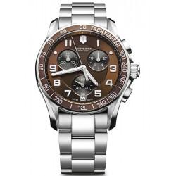 Swiss Army Chrono Classic Steel Mens Watch 249036