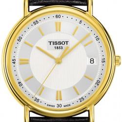 Tissot Carson 18K Yellow Gold Mens Watch T907.410.16.031.0