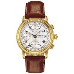Tissot Bridgeport Automatic 18K Yellow Gold Mens Watch T71.3.435.33
