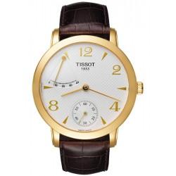Tissot Sculpture Power Reserve 18K Yellow Gold Mens Watch T71.3.459.34