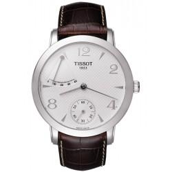 Tissot Sculpture Power Reserve 18K White Gold Mens Watch T71.5.461.34