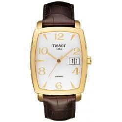 Tissot Sculpture Grande Date 18K Yellow Gold Mens Watch T71.3.633.34