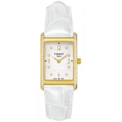 Tissot New Helvetia Diamond 18K Gold Womens Watch T72.3.105.34