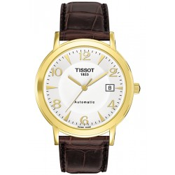 Tissot Oroville Automatic 18K Yellow Gold Mens Watch T71.3.462.34