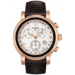 Tissot Chronograph 18K Rose Gold Mens Watch T906.417.76.031.00