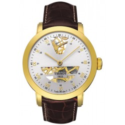 Tissot Sculpture Automatic 18K Yellow Gold Mens Watch T71.3.471.33
