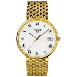 Tissot Goldrun 18K Yellow Gold Mens Watch T73.3.403.13
