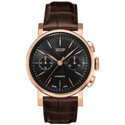 Tissot Heritage Automatic 18K Rose Gold Mens Watch T904.432.76.051.00