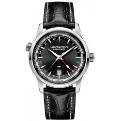Hamilton Jazzmaster GMT Automatic Mens Watch H32695731