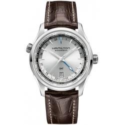 Hamilton Jazzmaster GMT Automatic Mens Watch H32605551