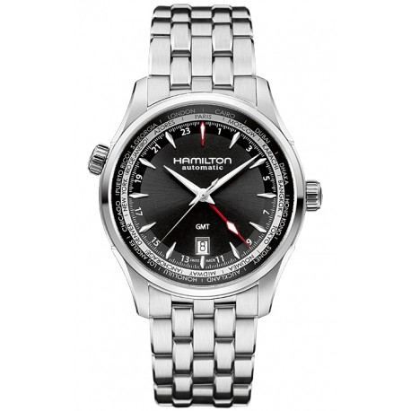 Hamilton Jazzmaster GMT Automatic Mens Watch H32695131