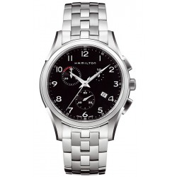 Hamilton Jazzmaster Thinline Chrono Quartz Mens Watch H38612133