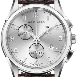 Hamilton Jazzmaster Thinline Chrono Quartz Mens Watch H38612553