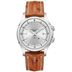 Hamilton Jazzmaster Traveler GMT Auto Mens Watch H32625555