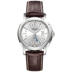 Hamilton Jazzmaster Traveler GMT Auto Mens Watch H32585551