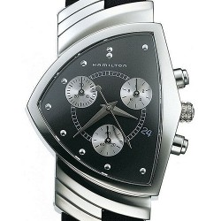 Hamilton Ventura Chrono Quartz Mens Watch H24412732