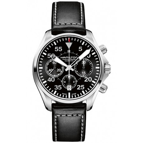 Hamilton Khaki Aviation Pilot Auto Mens Watch H64666735