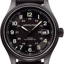 Hamilton Khaki Field Titanium Auto Mens Watch H70575733