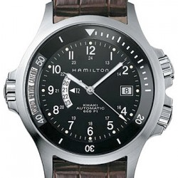 Hamilton Khaki Navy GMT Mens Watch H77615533